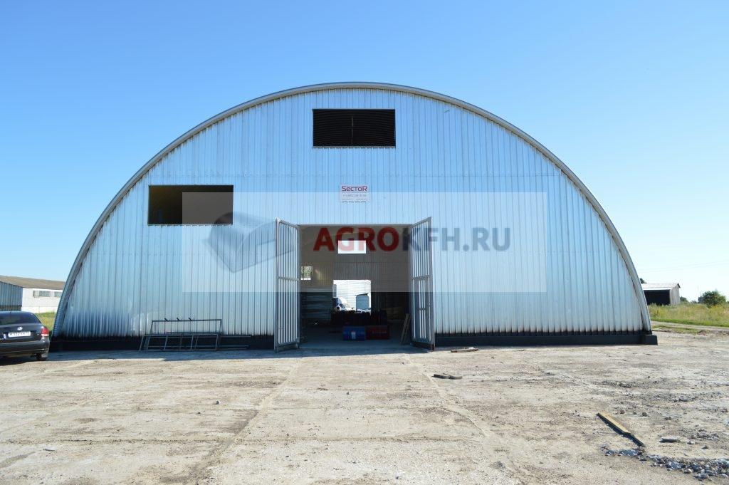 строительство металлическиъ быстровозводимых ангаров