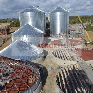 Особенности монтажа силосов для хранения зерна