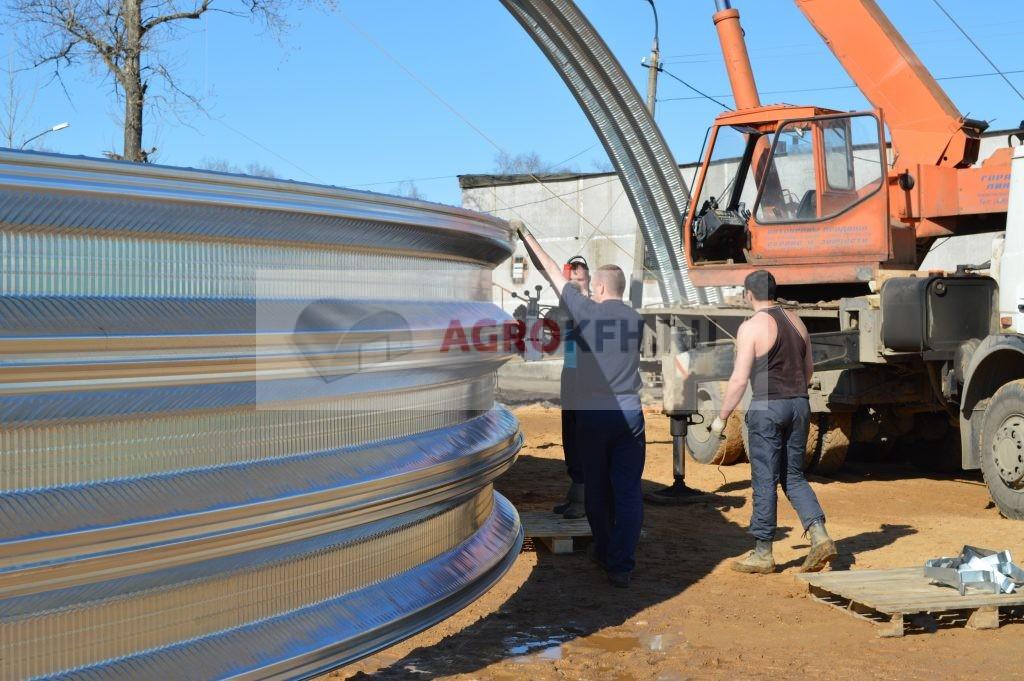 Оборудование для бескаркасного строительства