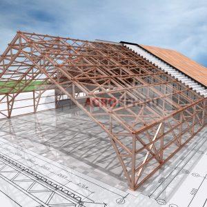 Проекты ангара из металлоконструкций