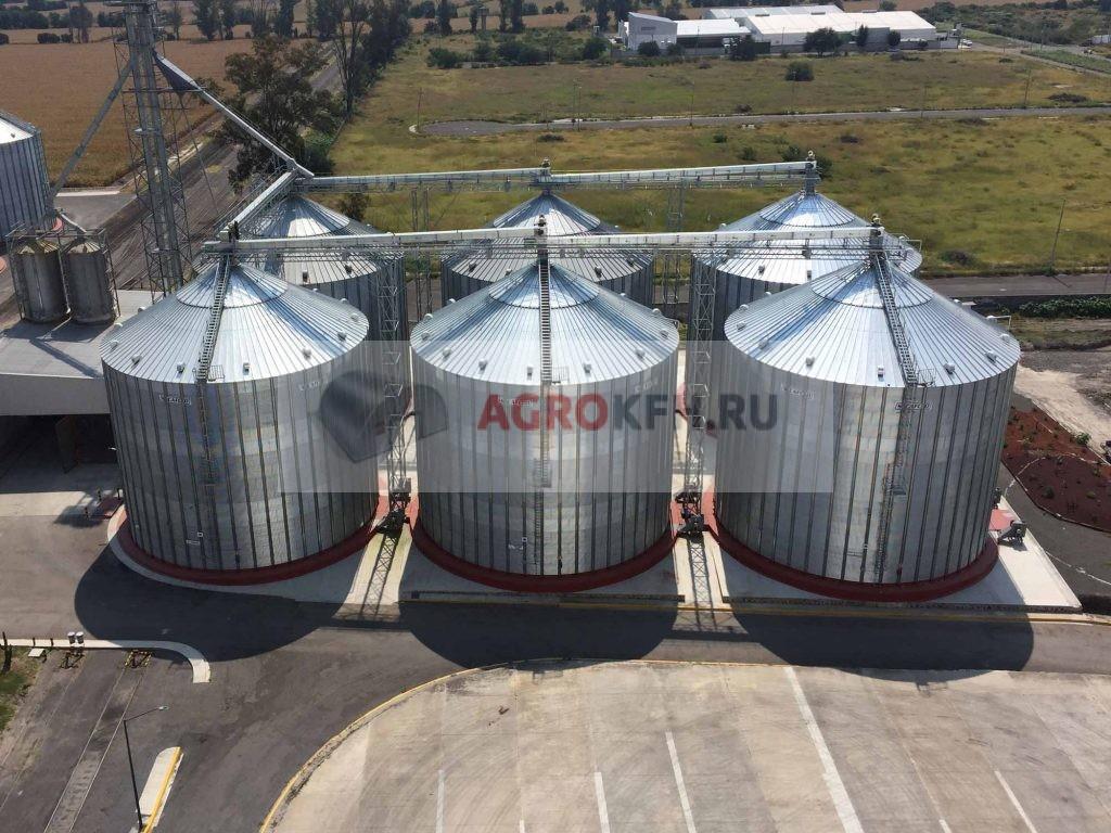 Хранение зерна в силосах