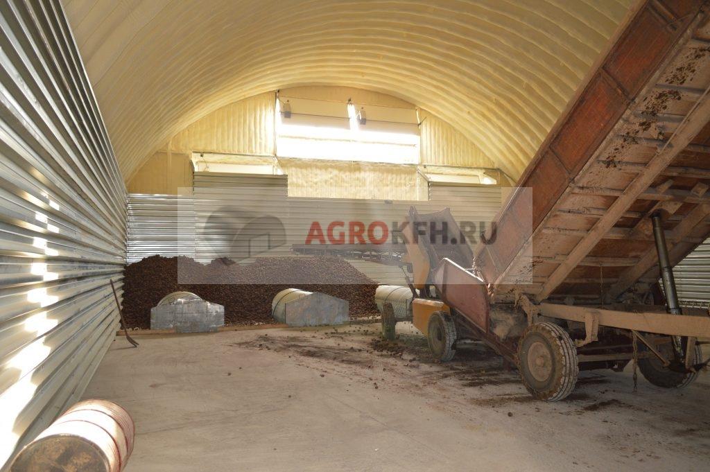 Практичные проекты картофелехранилищ