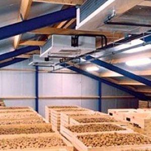 Картофелехранилище на 100 тонн