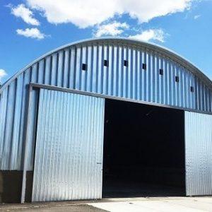 Бескаркасные арочные гаражи
