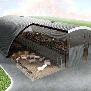 Ангары для свиней