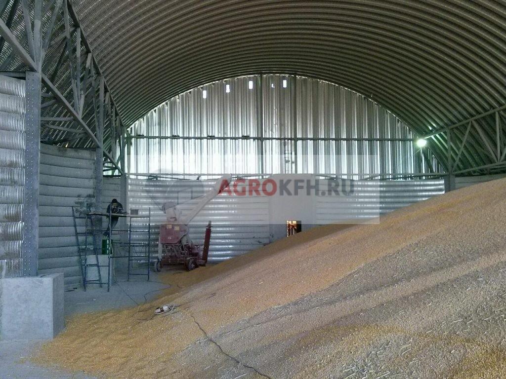 Амбар для хранения зерна