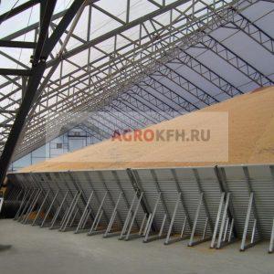 Зернохранилища и зерносклады
