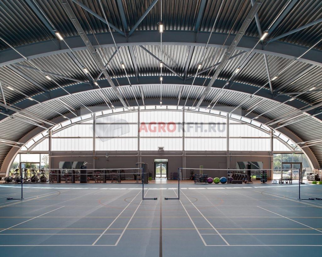 спортивный комплекс ангар