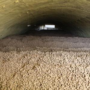Картофелехранилище на 1800 тонн