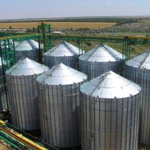 Зернохранилище на 100 тонн